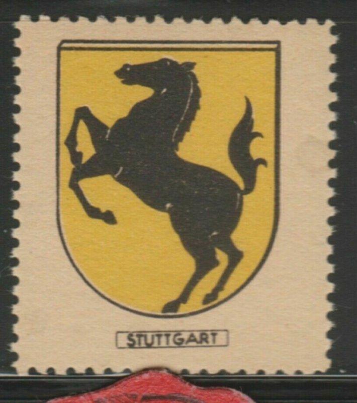 Stuttgart Cinderella Poster Stamp Reklamemarken A7P4F803