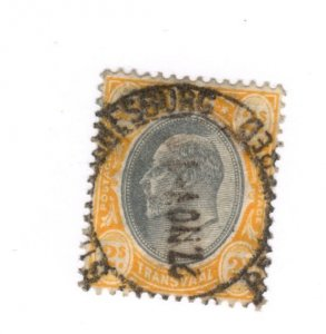 Transvaal #276 Used - Stamp CAT VALUE $16.00