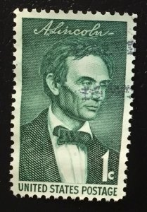 US #1113 Used XF - Abraham Lincoln 1 cent