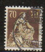 Switzerland #141 used