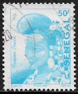 Senegal #1488 Used Stamp - Senegalese Fashion