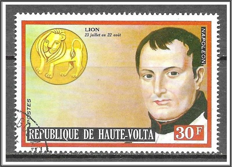 Upper Volta #315 Famous Men & Zodiac CTO NH