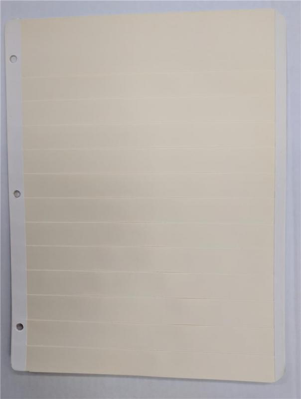 25 Manila stock pages sheets for stamps collection, fresh and clean stockpages