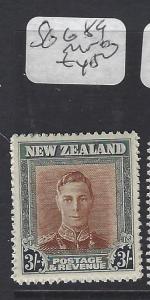 NEW ZEALAND (PP2111B)  KGVI  3/-  SG 689   MNH