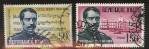 Haiti  Scott C167-168 Used CTO stamps similar cancels