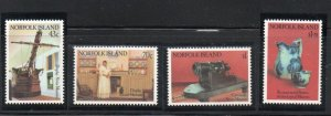 Norfolk Island Sc 504-07 1991 Museum Displays stamp set mint NH