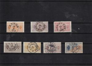 sweden 1874 official used stamps cat £200+   ref 7085