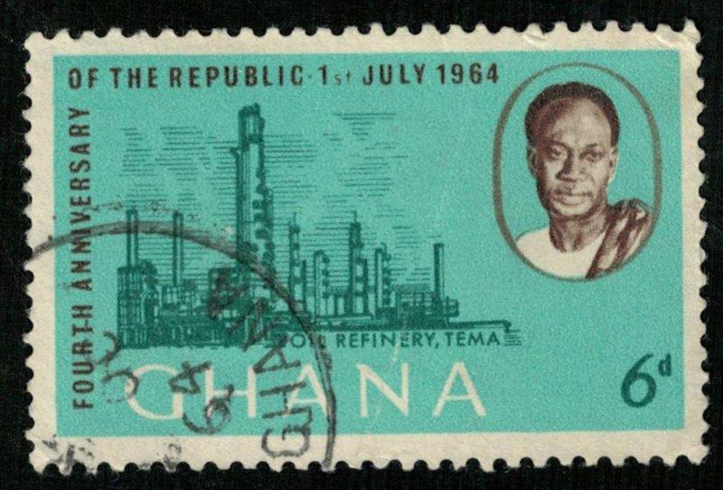 1964, Ghana, 6d (RT-342)