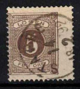 Sweden - SGD29ba - 5 ö Postage due perf.13 - CV 4.5£