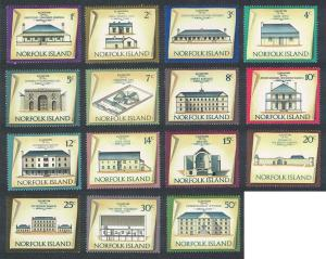Norfolk Historic Buildings 15v SG#133-147