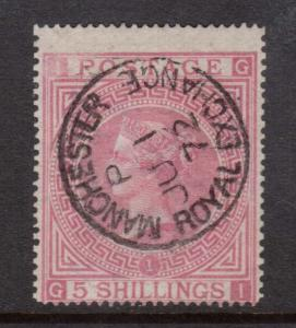 Great Britain #57 Used With Ideal Manchester CDS Royal Exchange Cancel