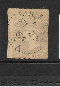 SOUTH AUSTRALIA 1860-69  9d     QV       SG 34