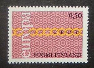 Finland 504. 1971 Europa, NH
