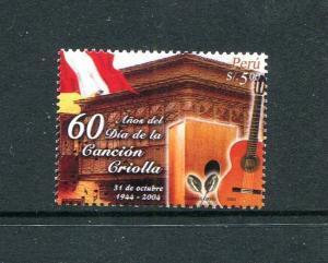 Peru 1437, MNH, Song Day 2004. x29722