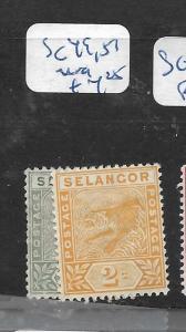 MALAYA SELANGOR     (PP2305B)   TIGER  SG 49, 51   MOG