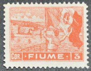 DYNAMITE Stamps: Fiume Scott #41 – UNUSED