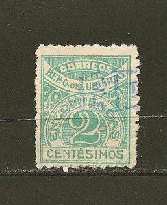 Uruguay Q26 Parcel Post Used