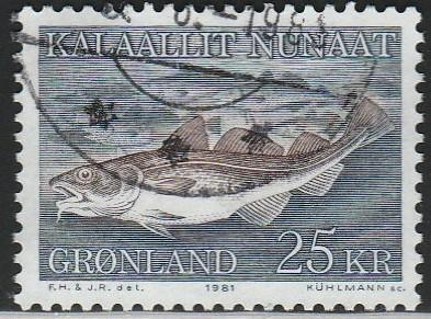Greenland, #140 Used From 1981-86