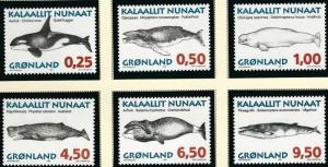 Nice Greenland #303-08 set MNH VF...Kalaallit is Hot now!