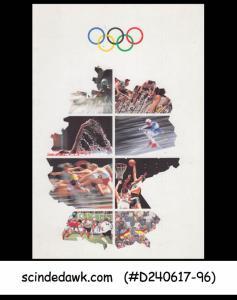 GERMANY - 1992 FUND FOR SPORTS / OLYMPICS - FOLDER - FDI (ID:B246)