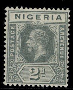NIGERIA SG3, 2d grey, LH MINT.