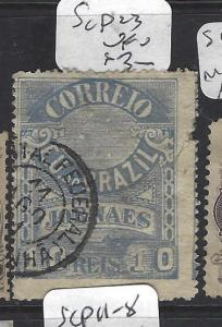 BRAZIL (P2511B)  NEWSPAPER STAMP  SC P23   VFU