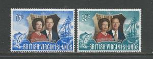 British Virgin Islands # 241-242 Unused HR