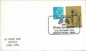 BOX BOXE BOXING -  SPECIAL POSTMARK on CARD - UK 1973