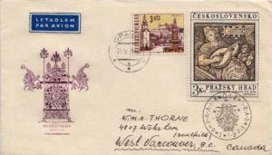 Czechoslovakia, Airmail, Music