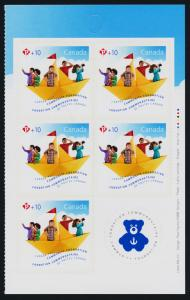 Canada B21a Right Booklet Pane MNH Community Health
