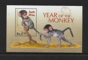 SOUTH AFRICA #1332  YEAR OF THE MONKEY  MNH