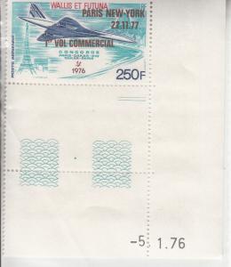 Wallis & Futuna, Sc C69, MNH, 1976, Concorde