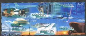 HONG KONG Sc#816-821 1998 New Airport Complete Set OG Mint NH