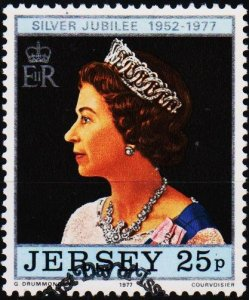 Jersey. 1977 25p S.G.170 Fine Used