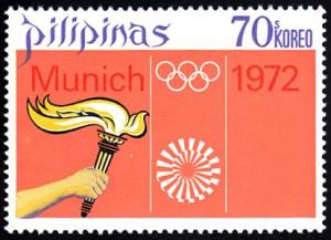 Philippines # 1165 mnh ~ 70s Olympic Torch