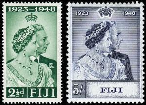 Fiji Scott 139, 140 Mint H F-VF, CV $23.20