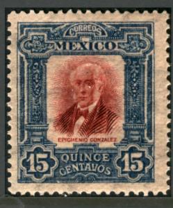 MEXICO 316 15cs INDEPENDENCE CENTENNIAL 1910 COMMEM NG