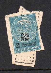 FRANCE - FISCAL STAMP - TAXATION STAMP - 2 FRANCS - Unstucked - Used - 1891 -