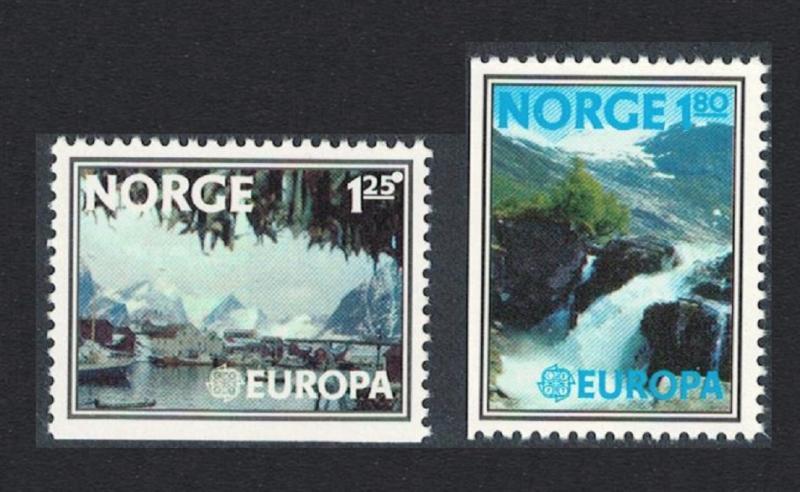 Norway Europa Landscapes 2v SG#795-796