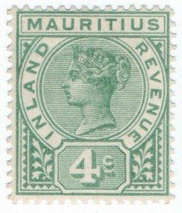 (I.B) Mauritius Revenue : Inland Revenue 4c (1898)