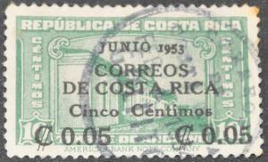 DYNAMITE Stamps: Costa Rica Scott #257 - USED