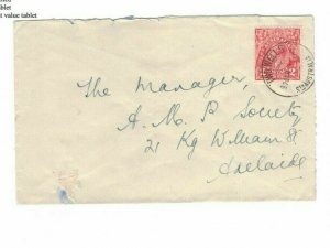 APH1474) Australia 1931 2d Red KGV Die I Small Cover