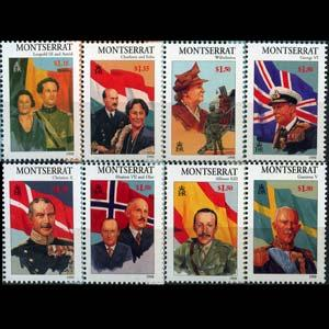 MONTSERRAT 1998 - Scott# 946-53 Royalty Set of 8 NH