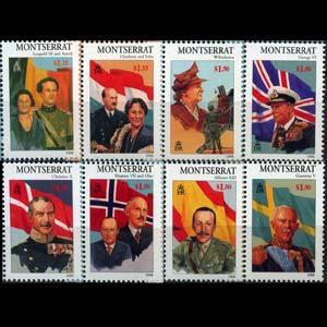 MONTSERRAT 1998 - Scott# 946-53 Royalty Set of 8 NH