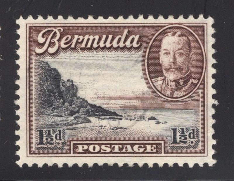 Bermuda #107 Chocolate & Black - Light Cancel