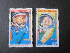French Wallis and Futuna Islands 1981 Sc C106-7 space set MNH