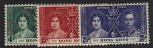 Hong Kong #151 -53 Mint XF  NH