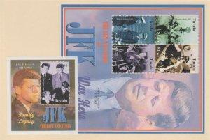 Tuvalu Scott #907-908 Stamps - Mint NH Souvenir Sheet Set
