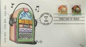 Steve Wilson Hand Painted 2911-12 Juke Box Juke Box Music