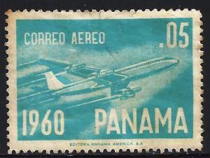 Panama Air Mail 1960 Scott# C240 Used